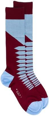 Marni colour-block socks