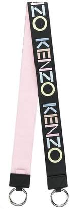 Kenzo logo embroidered bag strap
