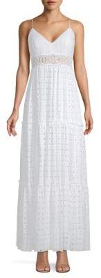 Lilly Pulitzer Melody Tiered Eyelet Maxi Dress
