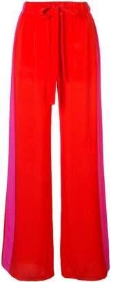 Diane von Furstenberg drawstring wide-leg trousers