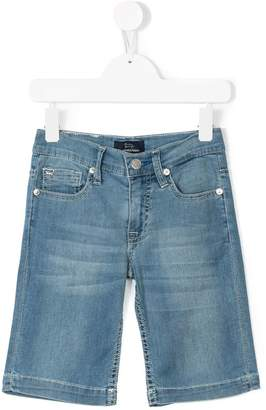 Harmont & Blaine Junior knee length denim shorts