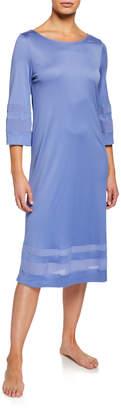 Hanro Enna 3/4-Sleeve Nightgown
