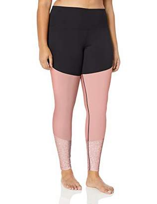 Core 10 Women's Size Tri-Color Yoga Full-Length Legging - 28""