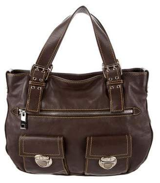 Marc Jacobs Leather Stella Tote