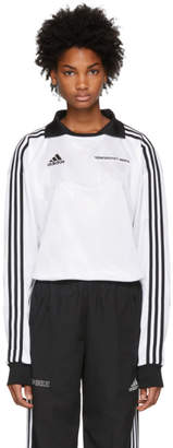 Gosha Rubchinskiy White adidas Originals Edition Football Jersey Polo