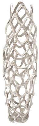 Benzara Aluminum Decorative Vase