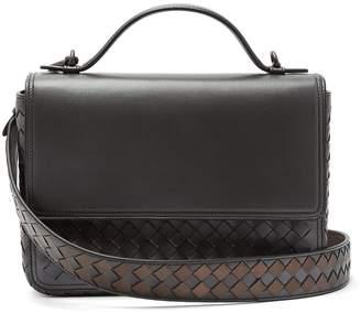 Bottega Veneta Intrecciato-woven leather satchel