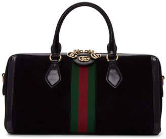 Gucci Black Ophidia Bowling Bag