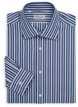 Charvet Regular-Fit Stripe Dress Shirt