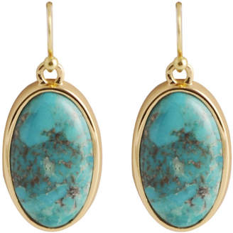 Artsmith BY BARSE Art Smith by BARSE Turquoise Oval Earrings