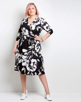 Neena Wrap Dress