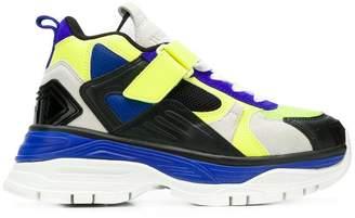 Juun.J chunky heel sneakers