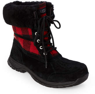 UGG Black & Redwood Butte Lined Duck Boots