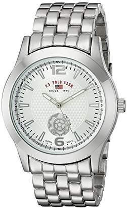 U.S. Polo Assn. Classic Men's US8440 Dial -Tone Bracelet Watch
