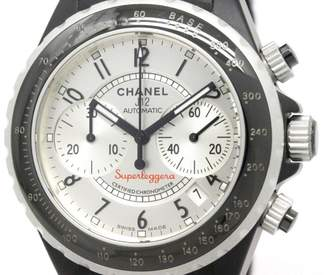 Chanel J12 Super Leggera H2039 Aluminium & Rubber 41mm Mens Watch
