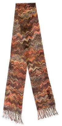 Missoni Patterned Open Knit Scarf