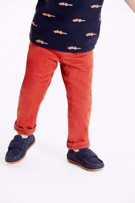 Next Boys Rust Lined Chinos (3mths-7yrs) - Brown