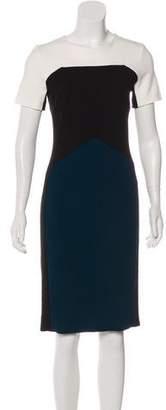 Narciso Rodriguez Short Sleeves Midi Dress