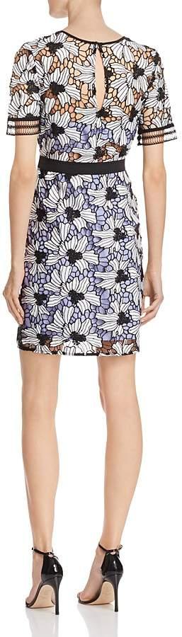 AQUA Contrast Lace Dress - 100% Exclusive 2