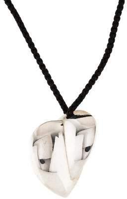 Tiffany & Co. Large Heart Pendant Necklace