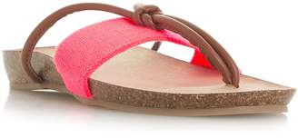 Head Over Heels Lilibet Elastic Toe Thong Sandals