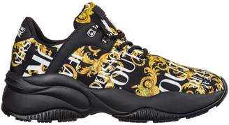 Versace Shoes Nylon Trainers Sneakers Logo Baroque