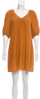 Tara Jarmon Silk Mini Dress