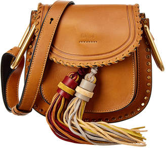 Chloé Hudson Fringe Mini Leather Shoulder Bag