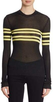 Peserico Sport Striped Sweater