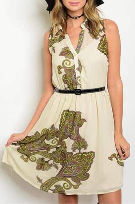 Nikkilund Cream Paisley Dress
