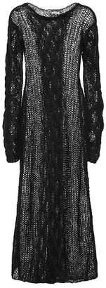 Miu Miu Mohair and wool-blend maxi dress