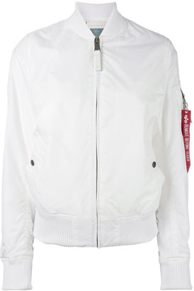 Alpha Industries bomber jacket $185.22 thestylecure.com