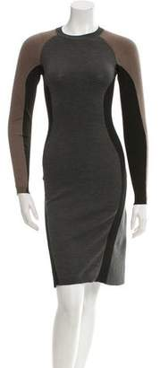 Stella McCartney Long Sleeve Knit Dress