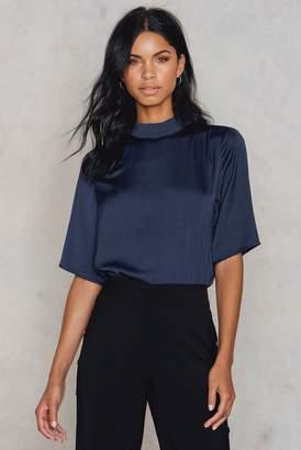 Rut & Circle Rut&Circle Maria ss blouse DK Navy