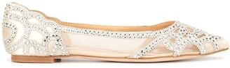 Badgley Mischka Gigi ballerina shoes