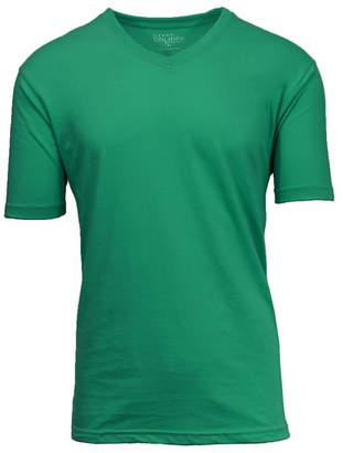 Galaxy By Harvic Men Short Sleeve V-Neck T-Shirt
