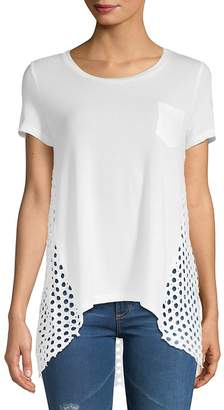 Zero Degrees Celsius Women's Hi-Lo Pocket T-Shirt