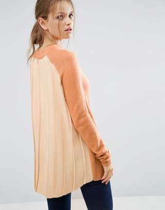 Asos Sweater with Pleated Back Detail