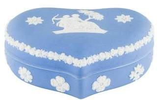 Wedgwood Jasperware Heart-Shaped Box