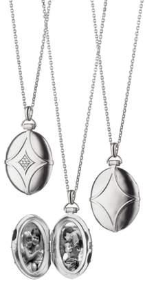 Monica Rich Kosann Bridle Locket Necklace