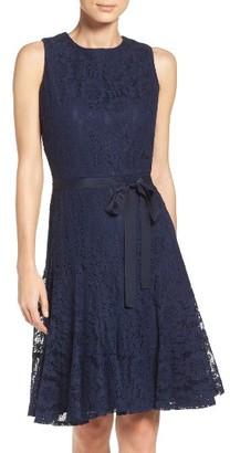 Women's Gabby Skye Lace Fit & Flare Dress $98 thestylecure.com
