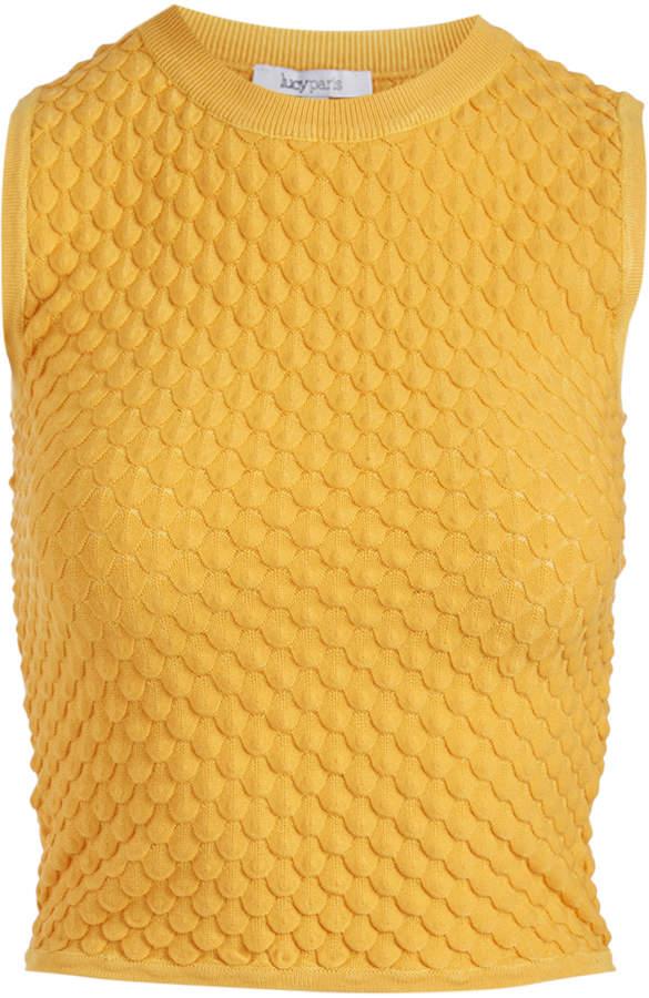 Mustard Bubble Sleeveless Sweater - Women & Juniors