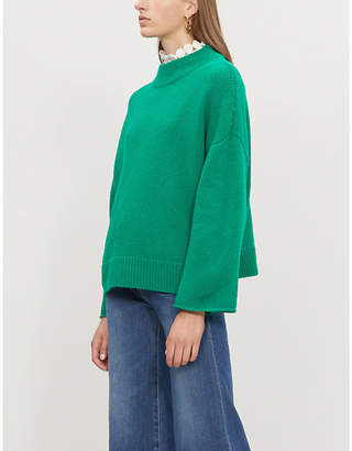 Claudie Pierlot Magnus wool-blend jumper