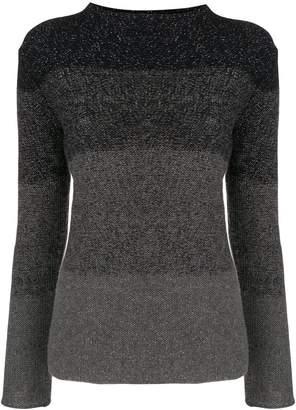 Fabiana Filippi glitter paneled sweatshirt