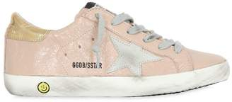 Golden Goose Super Star Patent Leather Sneakers