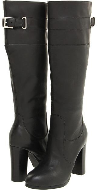 Kelsi Dagger - Willi (Black Leather) - Footwear