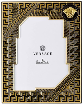 Versace Greek Lacquered Metal Picture Frame