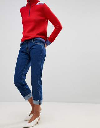 Pepe Jeans Betsie Low Rise Turnup Jeans