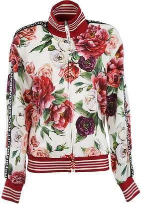 Dolce & Gabbana Peony Print Sweatshirt