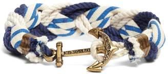 Brooks Brothers Kiel James Patrick Stripe Braided Bracelet